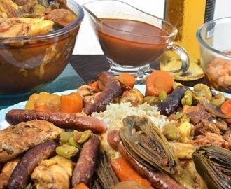 Recettes de couscous marocain traditionnel mytaste - Maroc cuisine traditionnel ...
