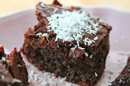 Sinner Thursdays - Fudgy Coconut Brownies