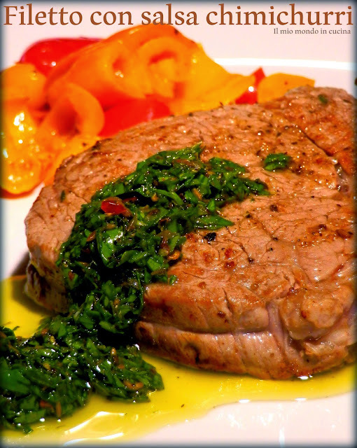 FILETTO con salsa CHIMICHURRI