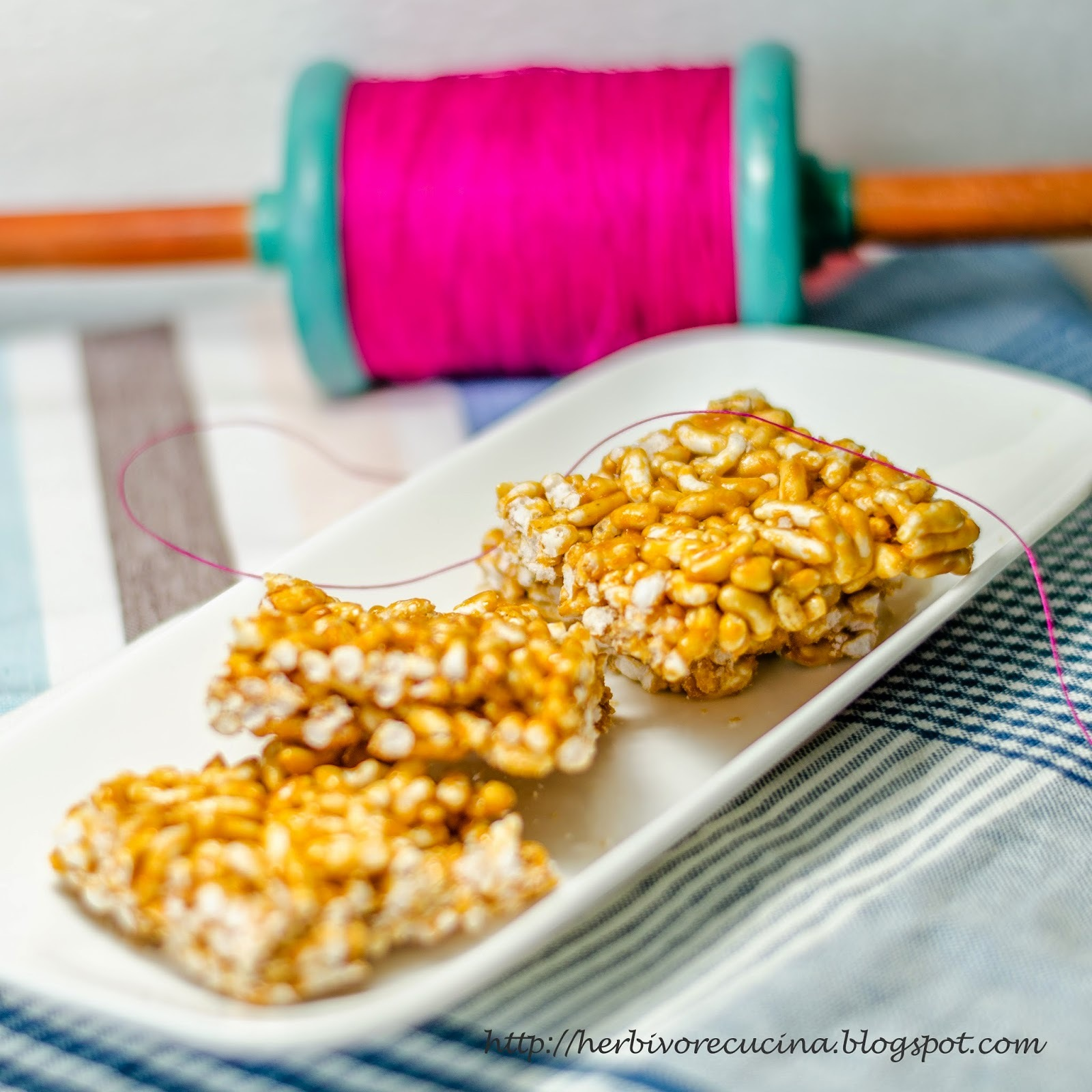 Mamra Chikki | Puffed Rice Brittle