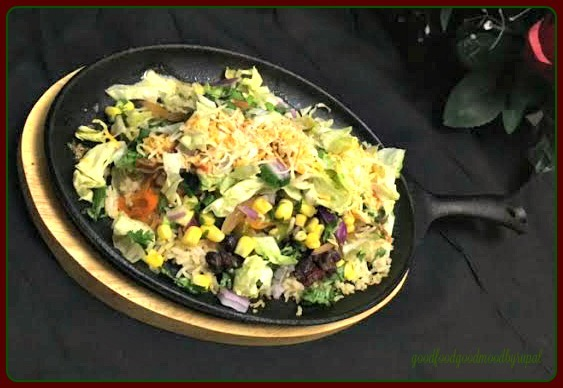 Chipotle-Style Veg. Bowl on Sizzler