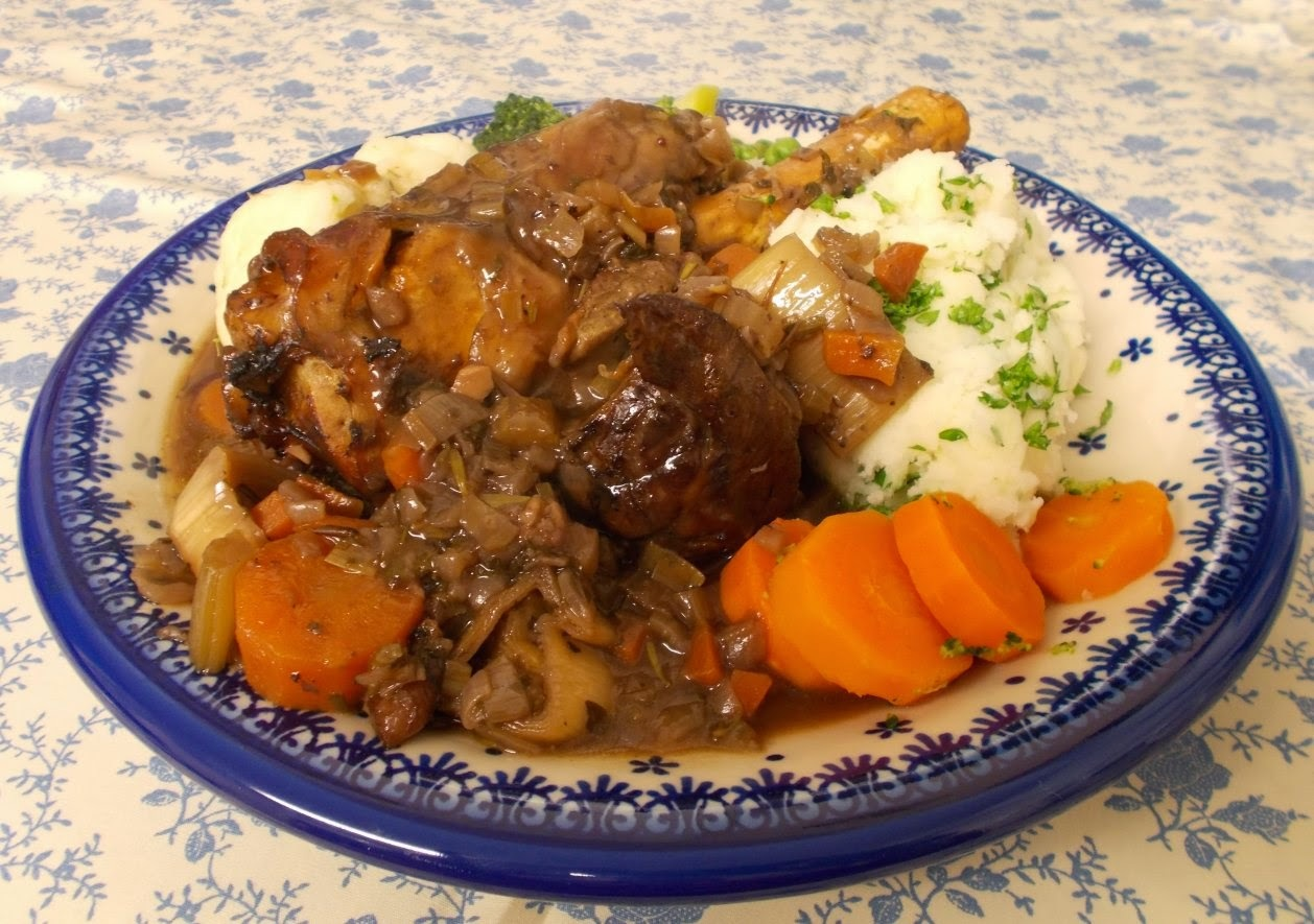 Stellar Slow Cooked Lamb Shanks