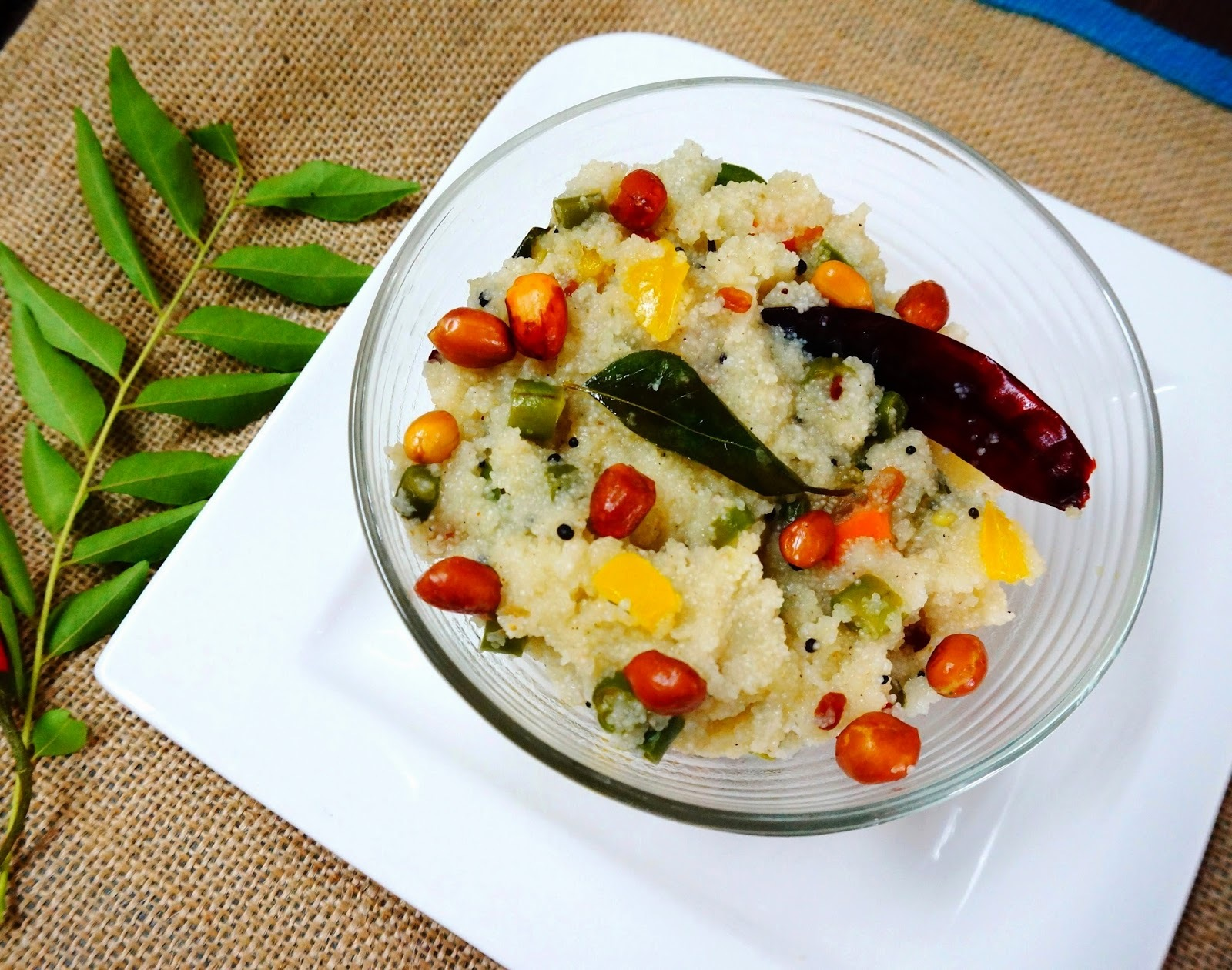 Recipe of vegetable Upma