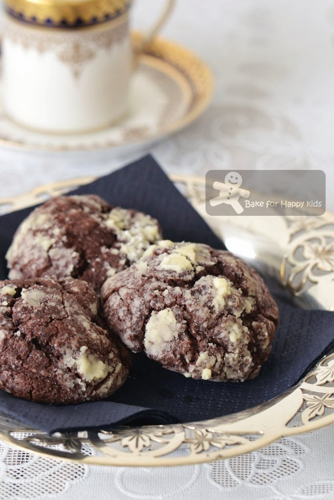 Chocolate Gooey Butter Cookies (Paula Deen)