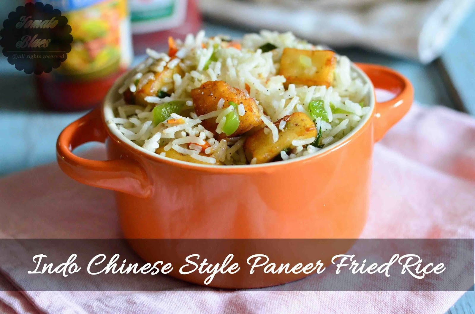 Paneer Fried Rice Recipe| Easy Indo Chinese Recipes