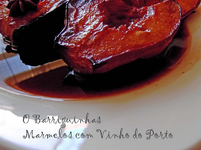 Marmelos Assados com Vinho do Porto