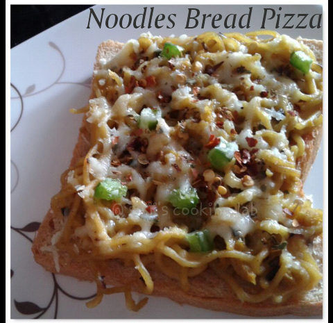 Noodles Bread Pizza