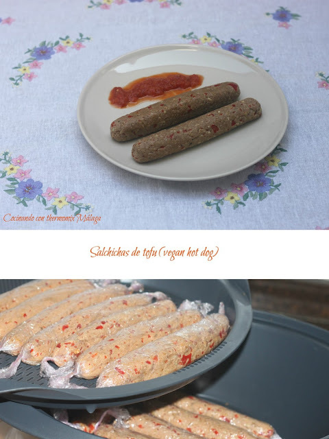 Salchichas de tofu (vegan hot dog)