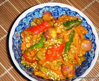 Acar Fish Pickle ~ 啊杂鱼 - Recipe from Everyrecipe.com.au