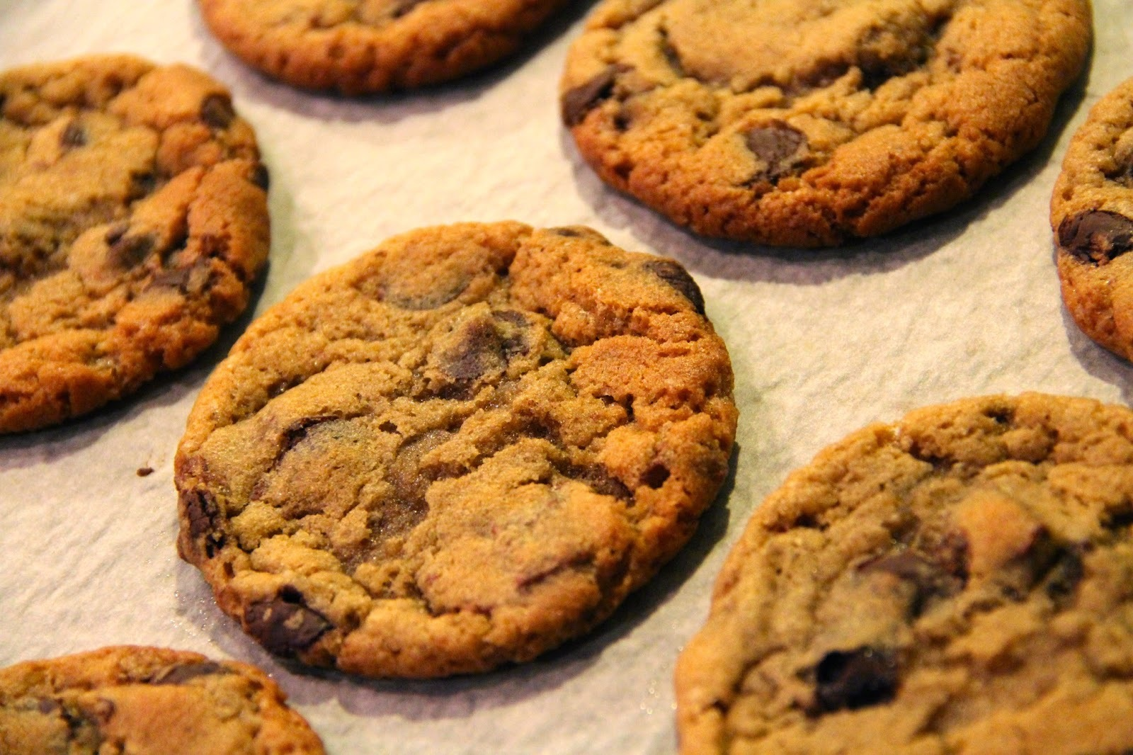 Amerikanske Chocolate Chip Cookies