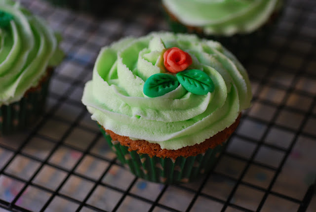 Cupcakes de After eight