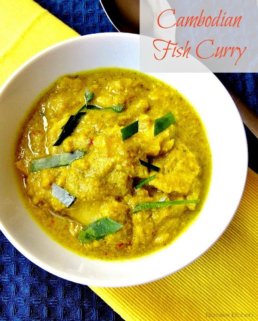 Cambodian Fish Curry