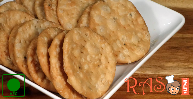 Gujarati Snacks Farsi Puri Recipe