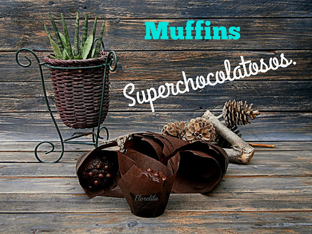 Muffins Superchocolatosos.