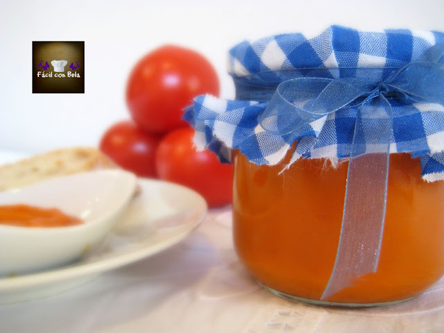 Salsa de Tomate Natural en Thermomix