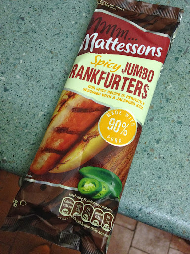 Mattesons Spicy Jumbo Frankfurters [by @NLi10]