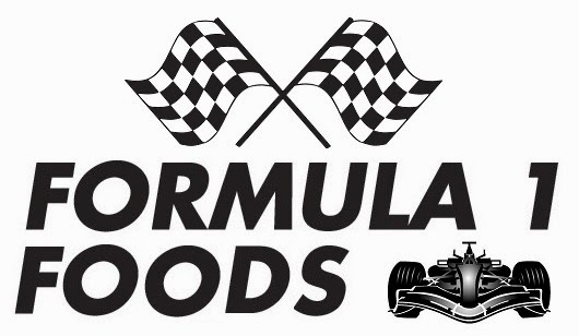 New blog challenge - Formula 1 Foods