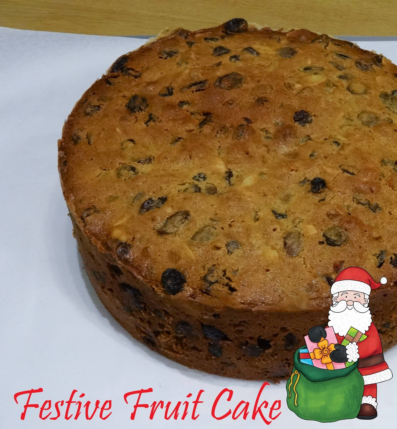 What to Bake and How to Bake it: Festive Fruit Cake