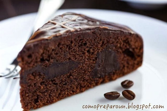 TORTA NEGRA DEL DIABLO - RECETA - Chocolate - Recipes