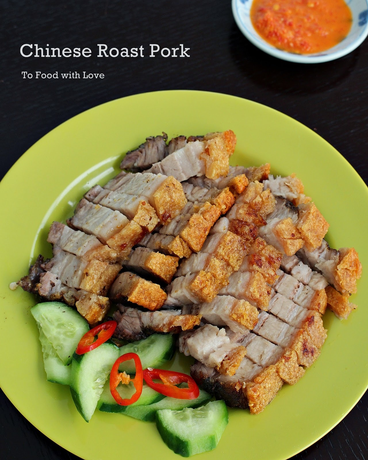 Chinese Roast Pork (Siu Yuk)