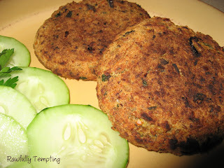 Zippy Red Lentil Burgers
