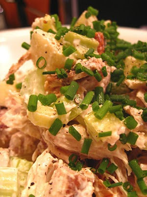 Waldorf salad with chicken