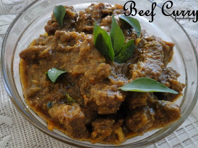 beef curry for ghee rice