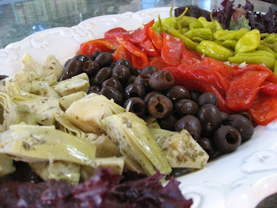 Vegan Antipasto—Great Alternative to Crudités