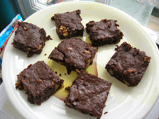 quick chocolate brownies nigella