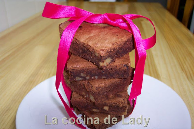Brownies de Chocolate y Nueces