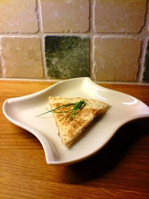 quesadillas chevre honung
