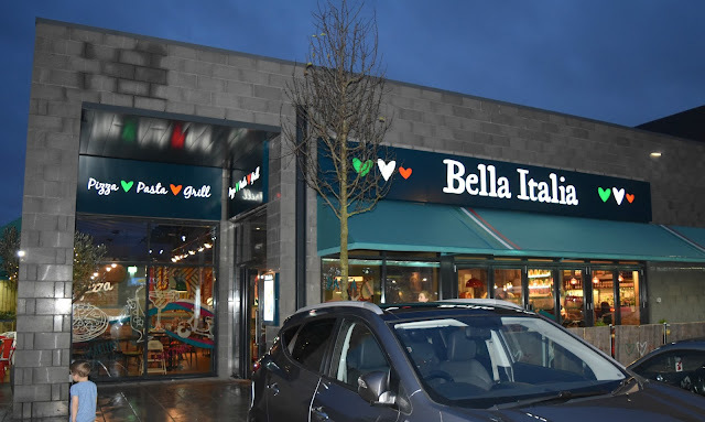 Eating Out - Bella Italia Walsall Review