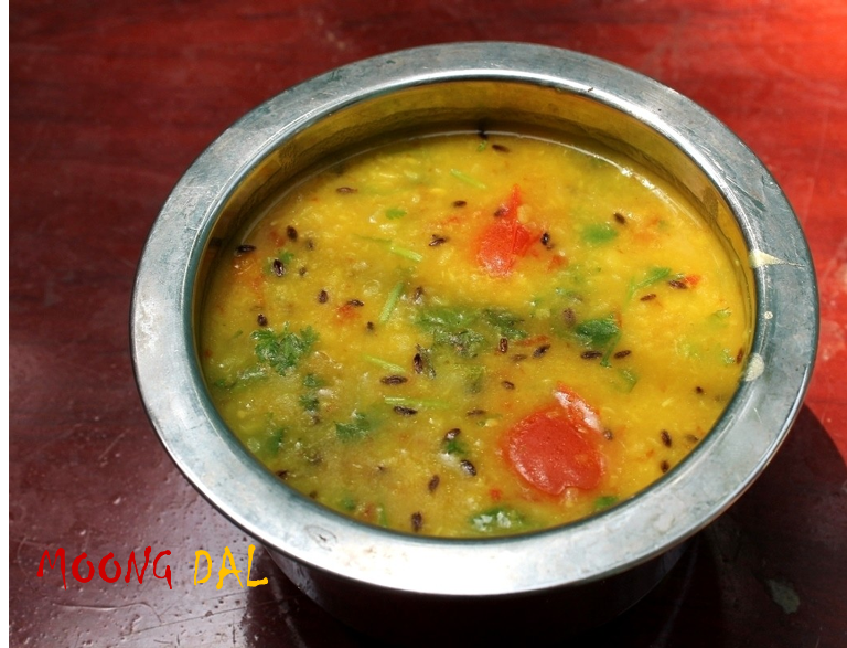Dal Roti / Simple Moong Dal Recipe / Flavoured Moong Dal For Roti - Side Dish for Roti