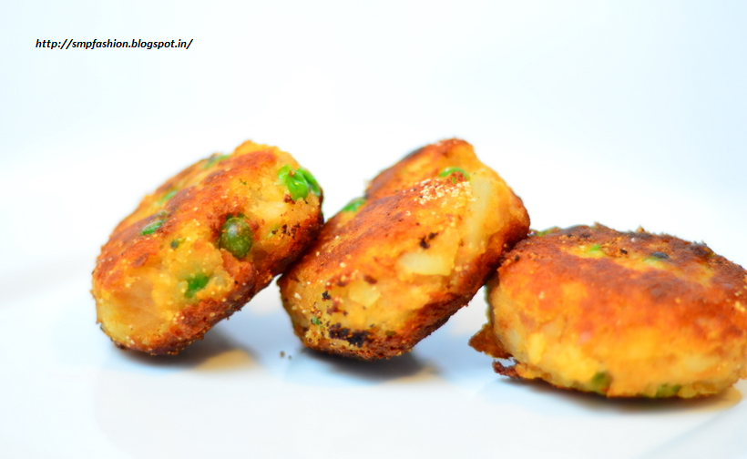 ALOO TIKKI (Spiced potato cutlets)