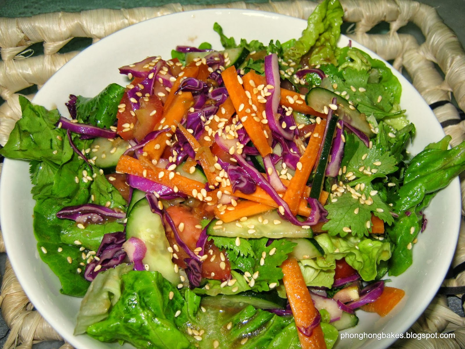 Miso Honey Salad Dressing