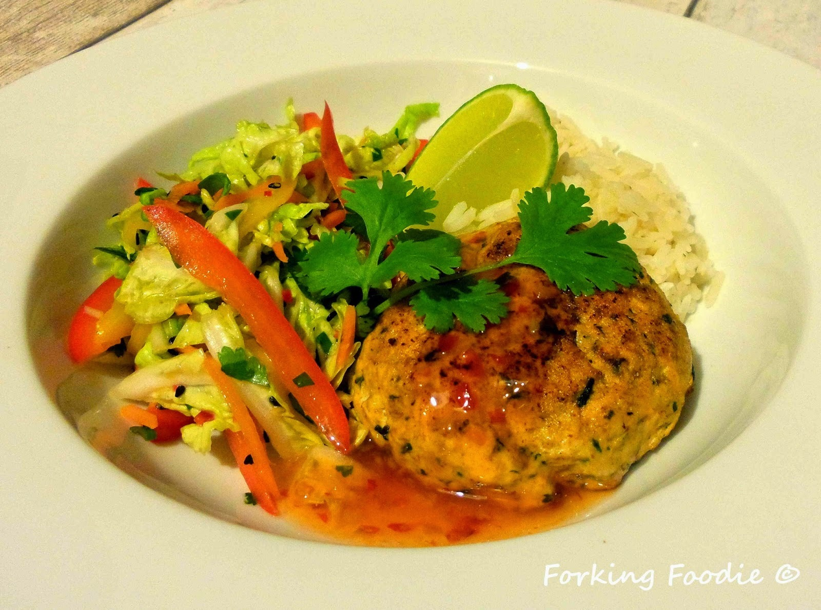 Thai Spiced Salmon Fishcakes (includes Thermomix method)