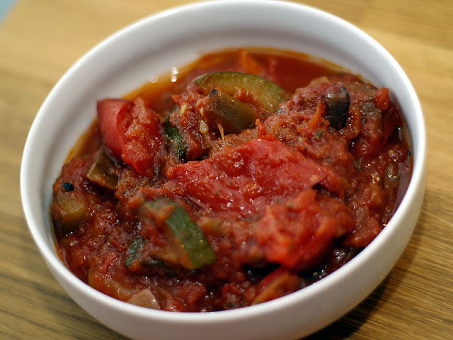 Ratatouille i Crock Pot
