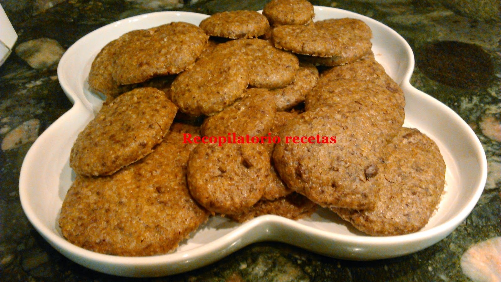 Galletas con pepitas de chocolate (Cookies) con thermomix