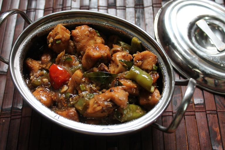 Chinese Style Pepper Chicken