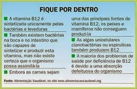 VITAMINA B12: ESSENCIAL AO SISTEMA NERVOSO CENTRAL.