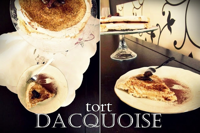 Dacquoise - tort bezowy