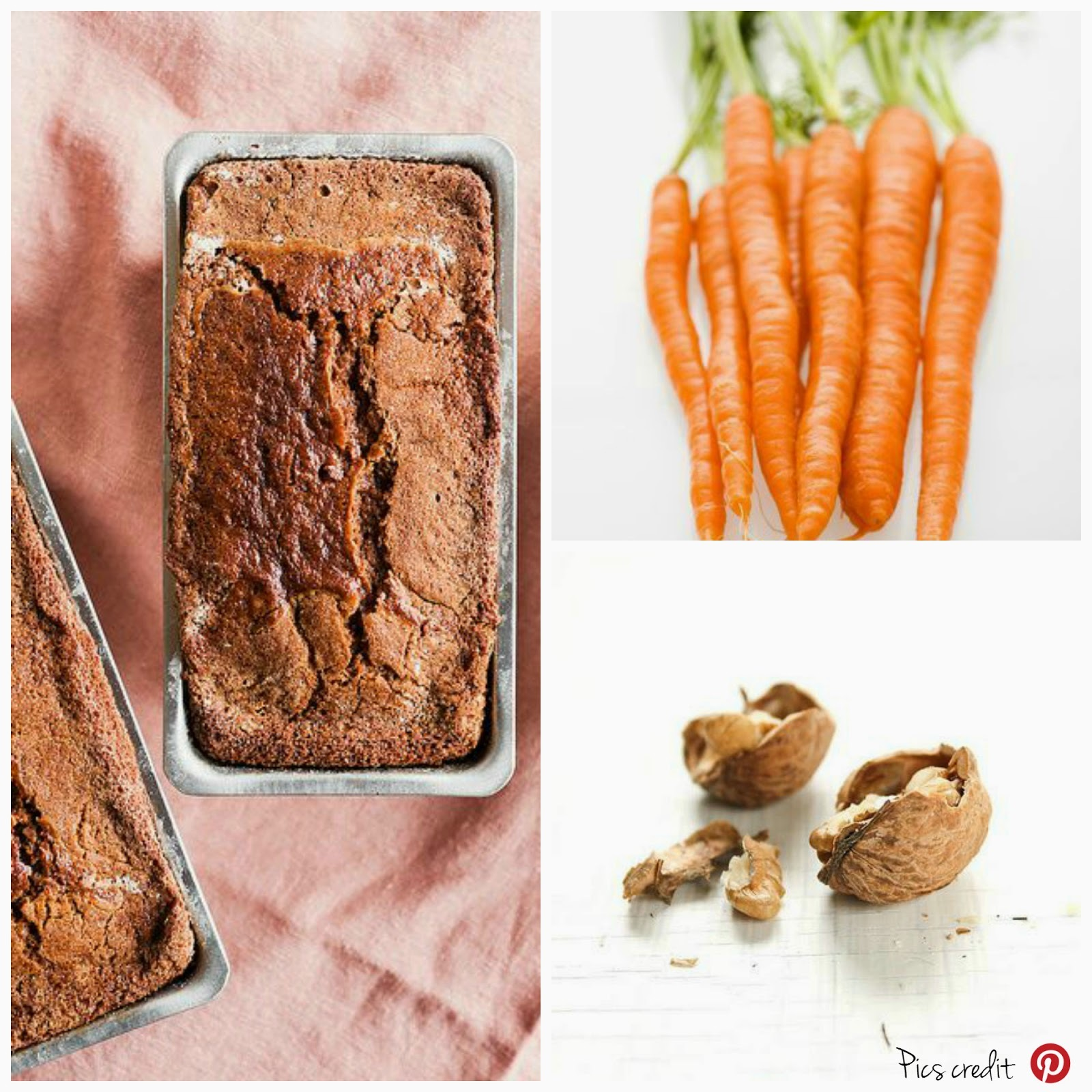 Torta morbida carote e noci / Soft carrot and nuts cake recipe