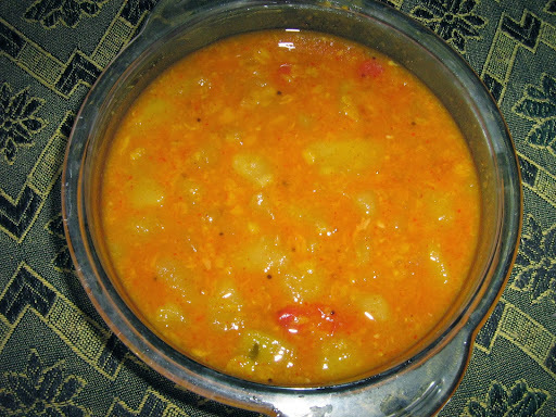 Karumusa curry / raw papaya curry / kaplanga curry
