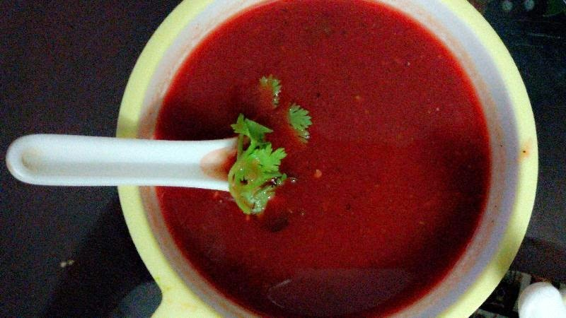 Beetroot Carrot soup