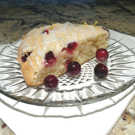 Cranberry-Lemon Scones