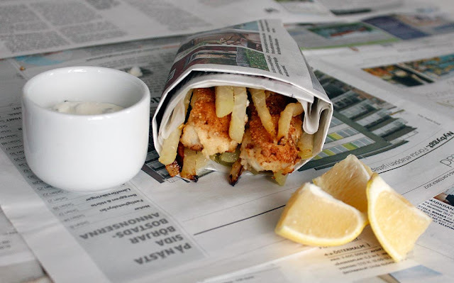 Fish and chips LCHF