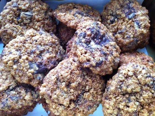 Oaty Chocolate Chip Cookies - Random Recipes #36