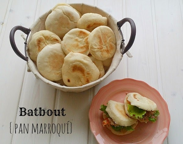 Batbout {pan marroquí} #BakeTheWorld