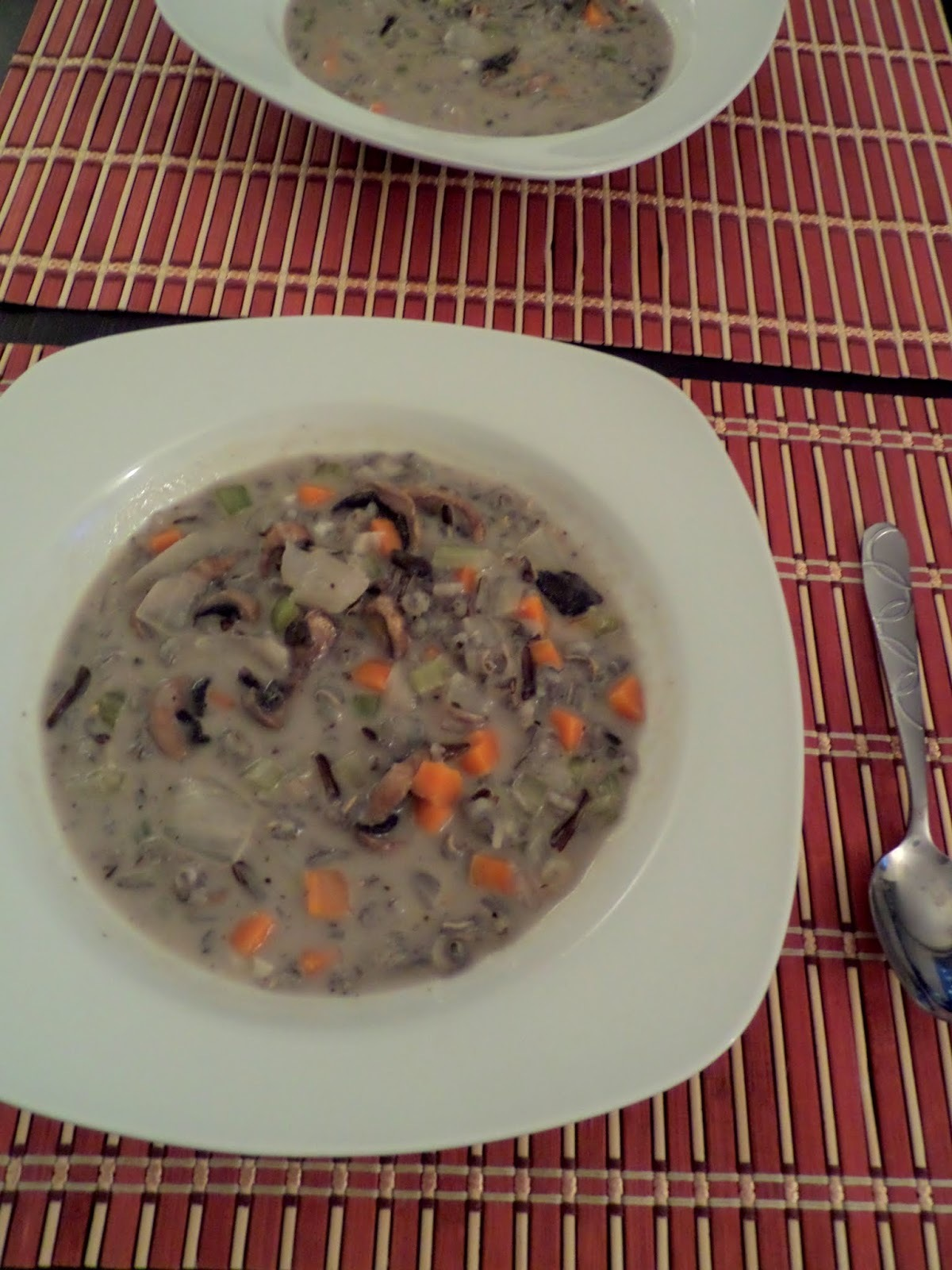 Mushroom and Wild Rice Soup