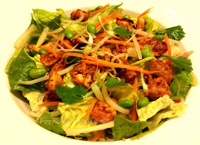 Spicy Chicken Salad - Yo Sushi Style